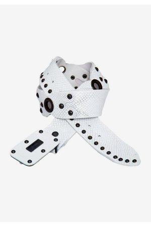 Cipo & Baxx Ledergürtel mit coolem Nietenbesatz
