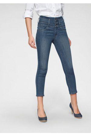 ARIZONA Damen High Waist Jeans - 7/8-Jeans »mit extra breitem Bund« High Waist