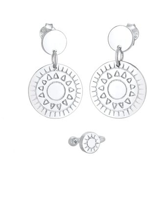 Elli Damen Ohrringe - Ohrringe und Earcuff