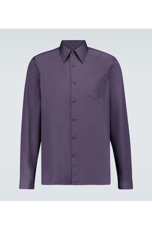 Prada Langarmhemd aus Baumwolle