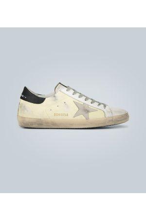 Golden Goose Sneakers Superstar mit Leder