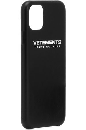 Vetements Hülle für iPhone 11 aus Leder