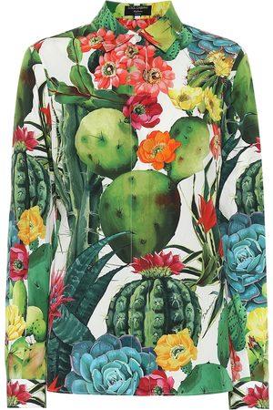 Dolce & Gabbana Exklusiv bei Mytheresa – Bluse aus Baumwollpopeline