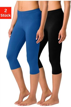 vivance collection Caprileggings (2er-Pack) mit Gummibund