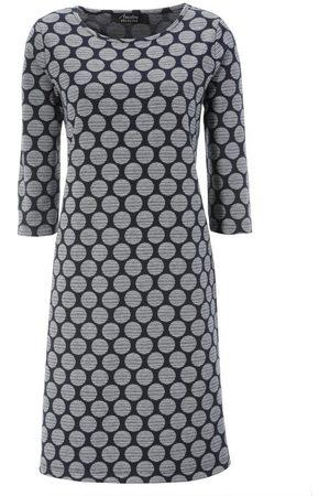 Aniston Jerseykleid mit Punkten & Streifen