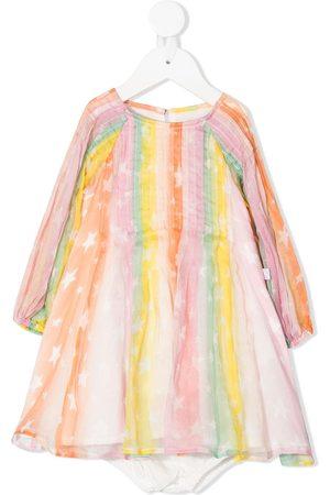 Stella McCartney Mädchen Bedruckte Kleider - Kleid mit Sterne-Print