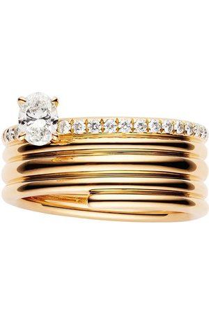 Repossi 18kt 'Blast' Rotgoldring mit Diamanten