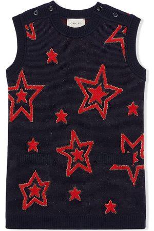Gucci Tunikakleid mit Sternen