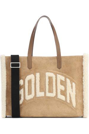 Golden Goose Damen Handtaschen - Shopper California mit Shearling