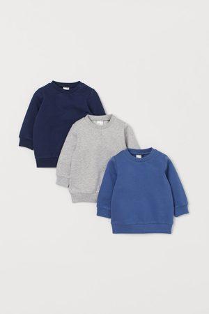 H&M 3 Sweatshirts aus Baumwolle
