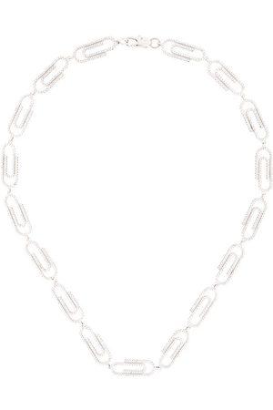 DARKAI Iced Out' Halskette im Büroklammer-Design