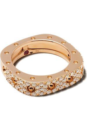 Roberto Coin 18kt 'Pois Moi' Rotgoldring mit Diamanten