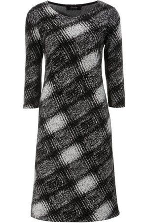 Aniston SELECTED Damen Freizeitkleider - Jerseykleid elegant gemustert