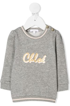 Chloé Strickpullover - Pullover mit Logo-Print