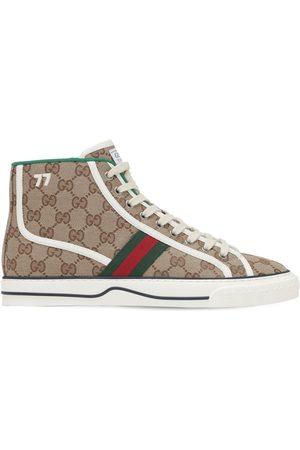 """Gucci Herren Sneakers - Sneakers """"gg Mignon Canvas Tennis 1977"""""""