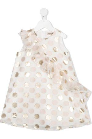 HUCKLEBONES LONDON Kleid mit Rüschen