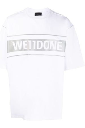 We11 Done Oversized-T-Shirt mit Logo