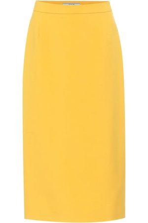 Prada Bleistiftrock aus Schurwolle