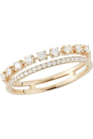 Dana Rebecca Designs 18kt Weißgoldring mit Diamanten