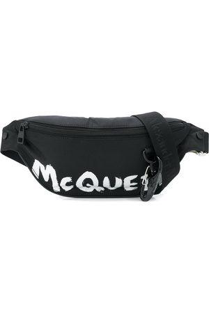 Alexander McQueen Gürteltasche mit gemaltem Logo