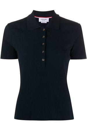 Thom Browne Geripptes Poloshirt