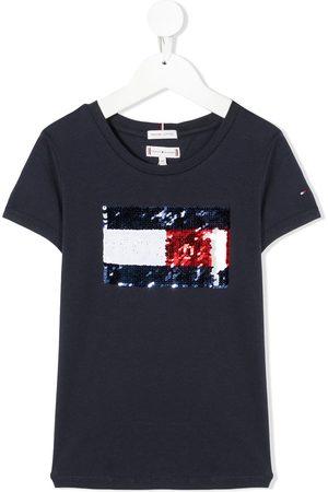 Tommy Hilfiger T-Shirt mit Pailletten