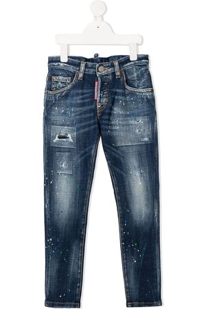 Dsquared2 Skinny-Jeans in Distressed-Optik