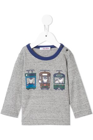 Familiar Jungen Longsleeves - Langarmshirt mit Zug-Print