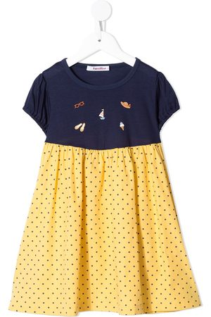 Familiar Mädchen Freizeitkleider - Gepunktetes Kleid