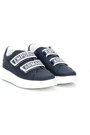 Emporio Armani Jungen Sneakers - Sneakers mit Logo-Riemen
