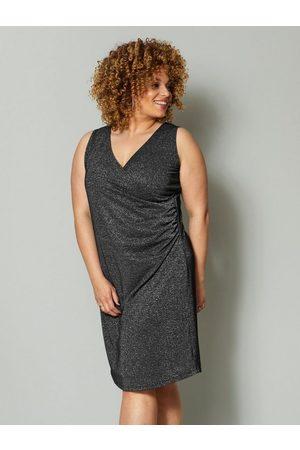 Angel of Style Jerseykleid mit Glanzgarn