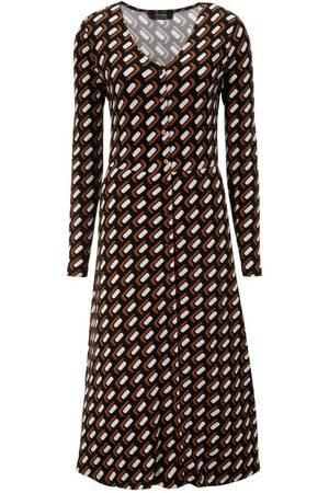 Aniston Jerseykleid mit Knopfleiste
