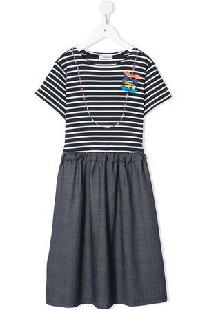 Familiar Damen Freizeitkleider - Gestreiftes Kleid