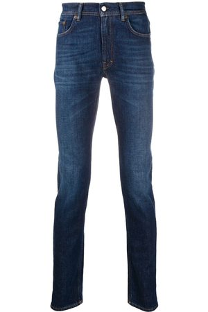 Acne Studios Skinny-Jeans mit Logo-Patch