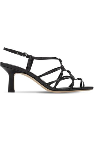 Aeyde 65mm Celia Leather Sandals