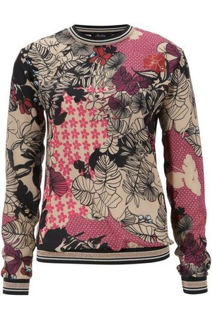 Aniston SELECTED Shirtbluse mit modisch, glitzernden Bündchen