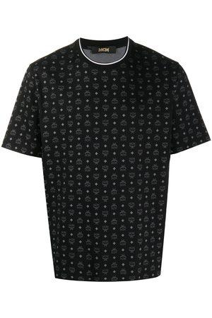 MCM T-Shirt mit Logo-Print