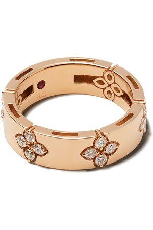 Roberto Coin 18kt Rotgoldring mit Diamanten