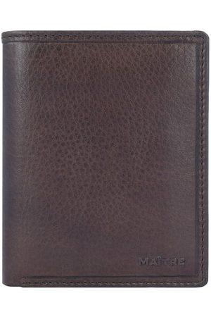 Maître Grumbach Hainer Geldbörse Leder 9,5 cm, dark brown