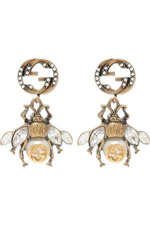 Gucci Verzierte Ohrringe aus Messing