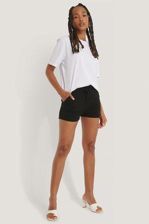 NA-KD Jersey-Shorts - Black