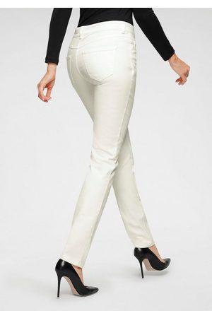 Mac Stretch-Jeans »Angela-Pipe Seam« Moderner Schnitt durch Längsnaht auf dem vorderen Bein