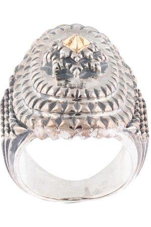 Natural Instinct Breiter Ring mit Gravur