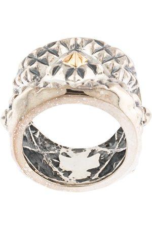 Natural Instinct Herren Ringe - Ring mit geometrischem Muster