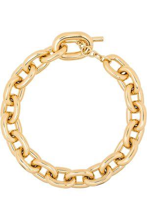 Paco rabanne Goldfarbene Halskette