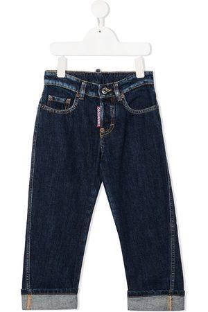 Dsquared2 Kids Jungen Cropped - Jeans mit Umschlag