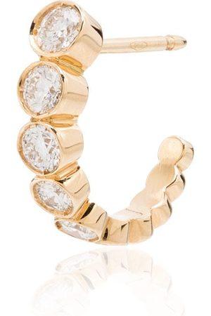 SOPHIE BILLE BRAHE 18kt Gelbgoldohrstecker mit Diamant