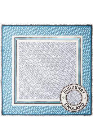 Burberry Schal mit Monogrammmuster