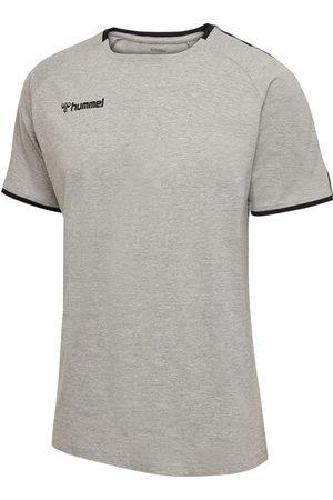 Hummel Trainings-T-Shirt, GREY MELANGE, 116
