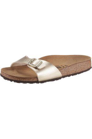 Birkenstock Damen Clogs & Pantoletten - »MADRID« Pantolette in schmaler Schuhweite